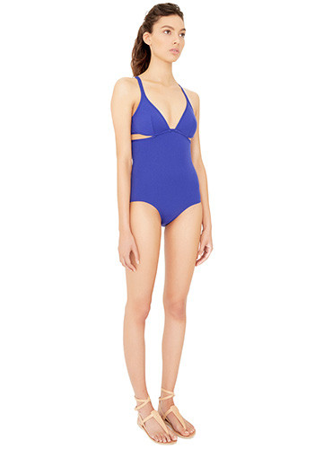 ATLANTIQUE TWIST BACK ONE PIECE SIDE