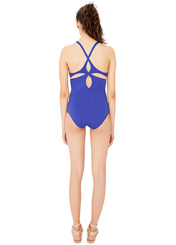 ATLANTIQUE TWIST BACK ONE PIECE BACK