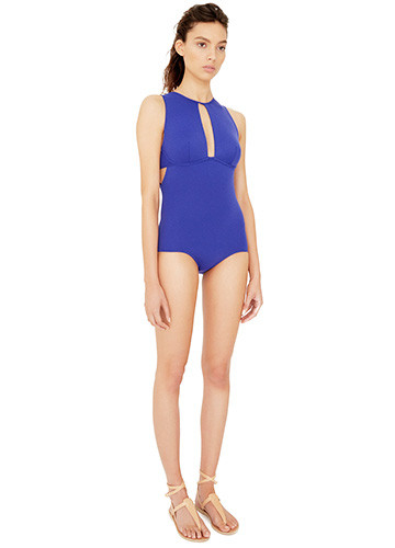 ATLANTIQUE SLASHED ONE PIECE SIDE