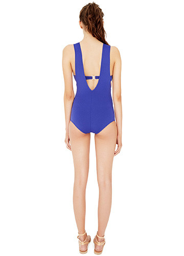 ATLANTIQUE SLASHED ONE PIECE BACK