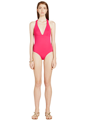 FRAMBOISE SWERVE ONE PIECE FRONT