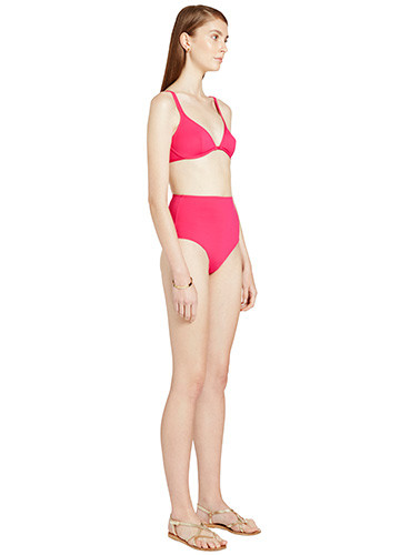 FRAMBOISE CLASSIC BIKINI WITH HIGH WAISTED PANT SIDE