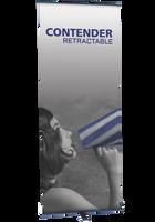 Contender Standard - Retractable Banner Stand