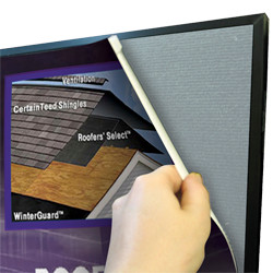 """4' Detachable Panel Graphic for Fast Trak Only 17"""" x 28"""""""