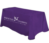 Economy 1 Color Imprint Table Throws