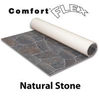 Comfort Flex - 10' x 10' Vinyl Flooring - Natural Stone Collection