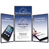 Show 'N' Fold 6' Tabletop Display with Full Graphics