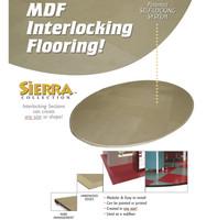 Sierra - 20' x 20' MDF Flooring / Subflooring