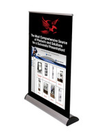 Imagine Retractable Tabletop Banner Stand