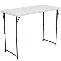 Showgoer 4' Portable Folding Demo Table
