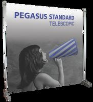 Pegasus Supreme 7' x 8' Telescopic Banner Stand