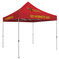 Deluxe ShowStopper - 10' Square Outdoor Event Tent /w 5 Imprints