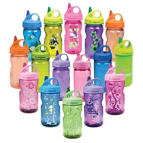 Nalgene Grip N Gulp Children Spill Proof Water Bottle