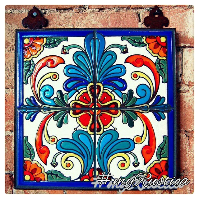 mexican relief tiles