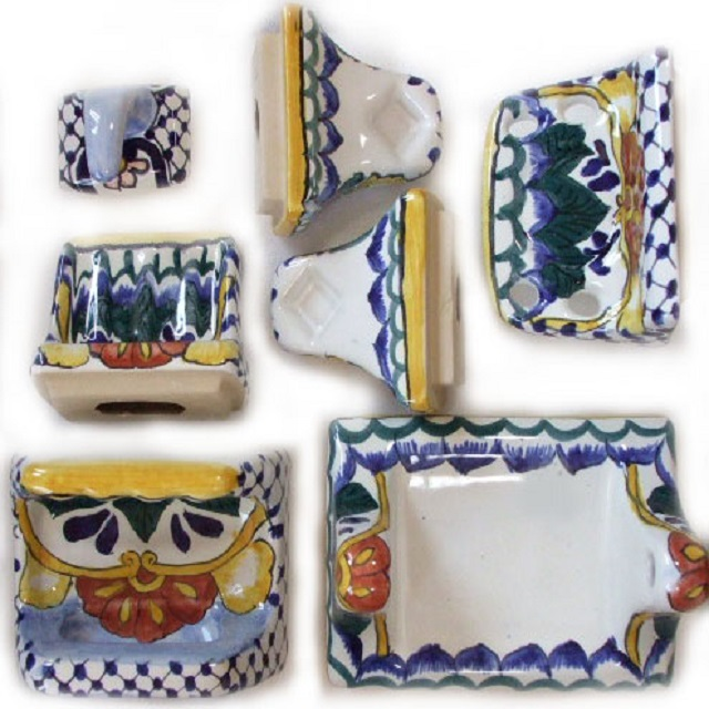 bath toilet handmade wall accessories from mexico
