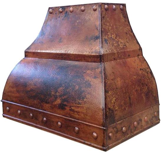 cheap copper range hood