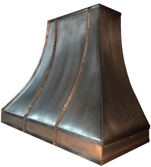 zinc range hood for restaurant