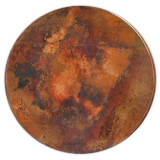 """round 42"""" copper tabletop"""