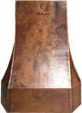 custom kitchen copper range hood