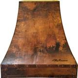 wall copper kitchen hood sale