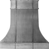 pewter kitchen hood