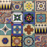 ceramic relief tiles on sale