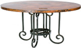 old european copper table