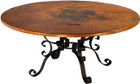 mexican copper table