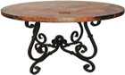 spanish copper table