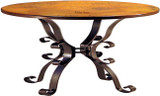 dining copper table