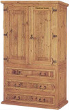 tall mexican armoire