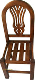 hand made mexican wooden chair