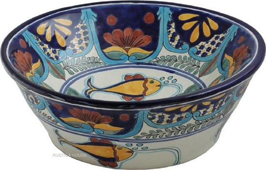 Talavera Bath Sink Artisan Made