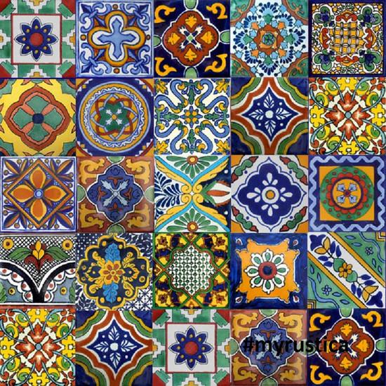 Mexican Tiles In San Antonio - 4 inch mexican tile