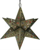 tin star lamp illumination