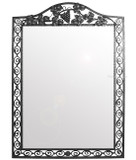 traditional iron mirror
