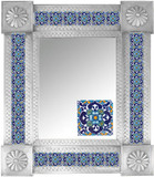 Mexican Tile Mirror 0011