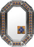 metal tin mirror tile fabricated