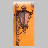 victorian outdoor wall iron lantern