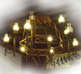 made to order iron chandelier