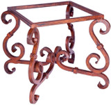 made to order forged iron table base