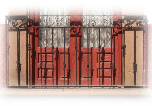 individuality forged iron balcony