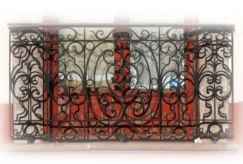mystique forged iron balcony