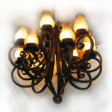 french style iron chandelier