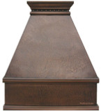 copper stove hood