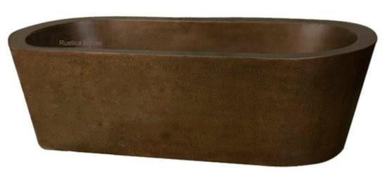 contemporary copper tub