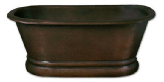 copper bath-tub