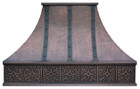 colonial vent hood copper