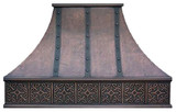 colonial vent hood copper