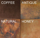 country copper bathtub patina choices